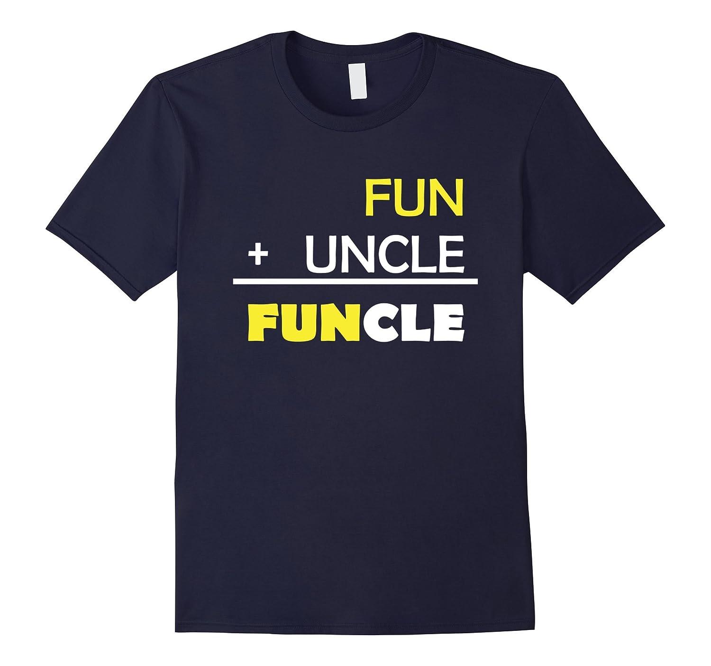 Mens Mens Funcle T-Shirt | Fun Uncle Shirt Funny Gift-CL