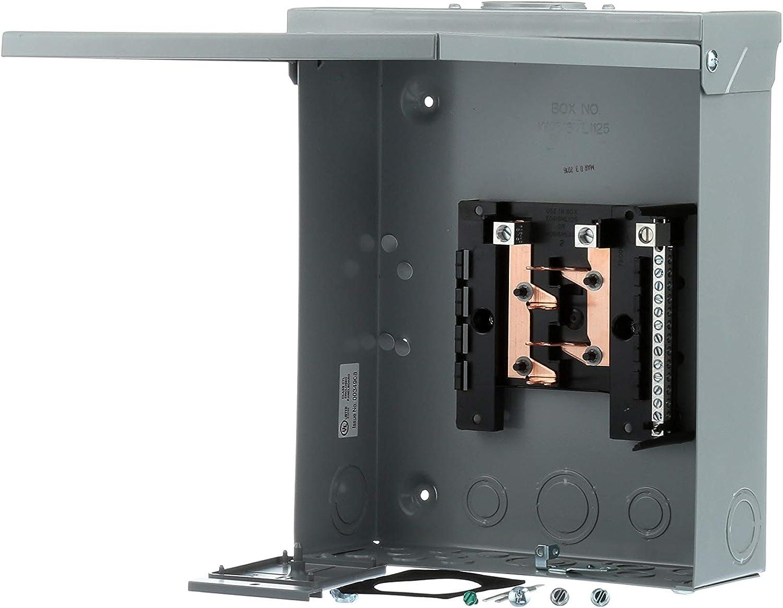 8 Space 16 Circuit Outdoor Load Center Siemens W0816ML1125CU 125 amp