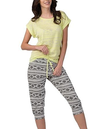 324154f7f4 Rossli Aztec Short Sleeved Women s Pyjama Set SAL-PY-1093.I
