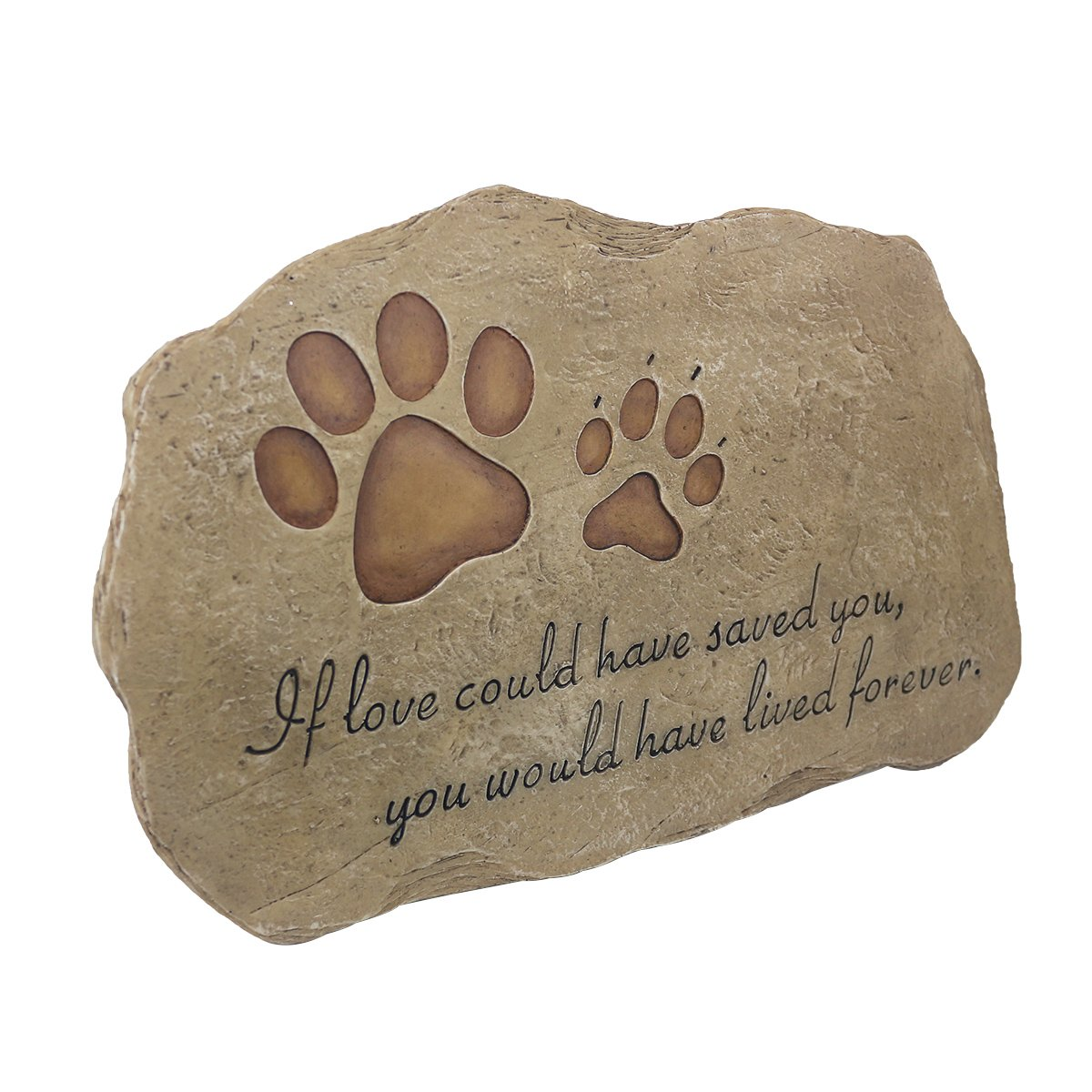 Amazon.com : JSYS Pet Memorial Stone Marker for Dog or Cat For ...