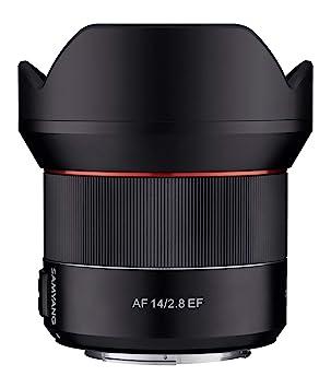 Samyang 14mm F2 8 Autofocus Lens for Canon EF - Black