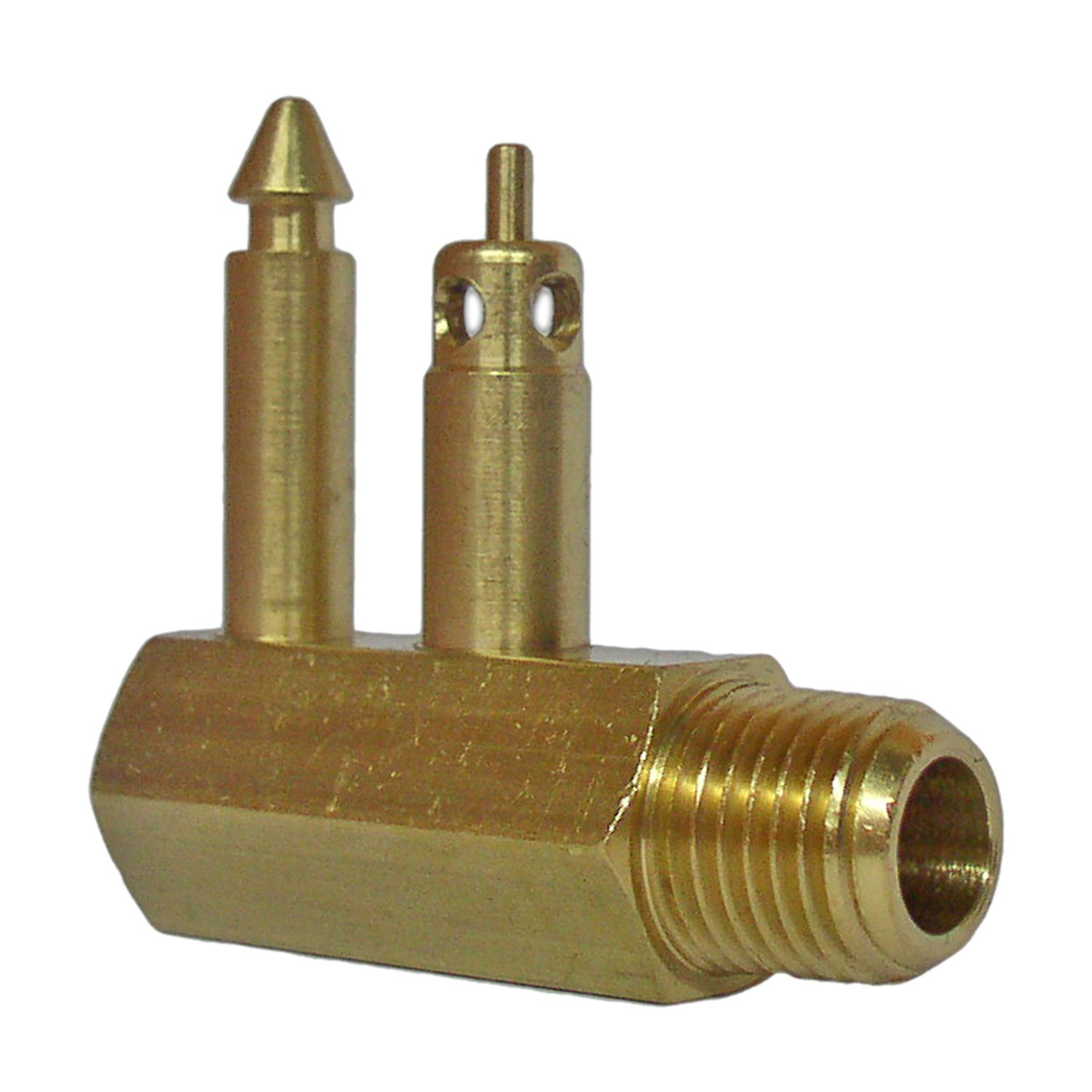 Five Oceans Fuel Line Brass Tank Male Connector for Mercury, 1/4'''' Npt, for Boat– FO-2899