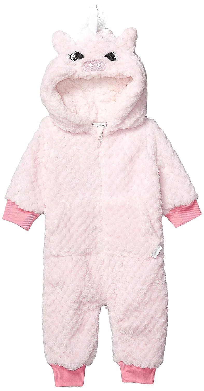 Quiltex Girls Toddler Unicorn Coral Fleece Popcorn Novelty Prams