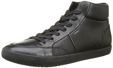 767dea8e4 Geox U Smart D, Baskets Hautes Homme: Amazon.fr: Chaussures et Sacs