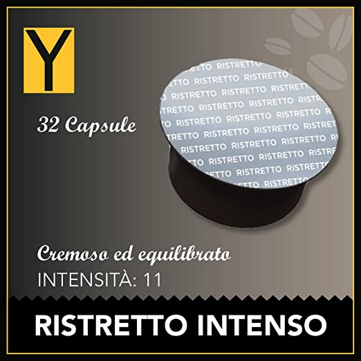 101 opinioni per Yespresso Capsule Dolce Gusto Compatibili Intenso Ristretto- Confezione da 32