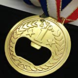 Ieasycan Olympic Specially Design NO.1 Gold Medal Bottle Opener Ring Beer Bottle Opener For Bar