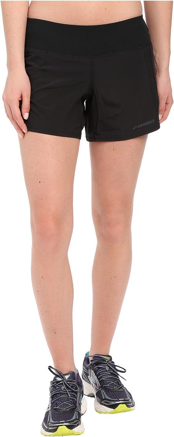 TALLA M. Brooks Chaser Laufshorts Pantalones Cortos para Mujer
