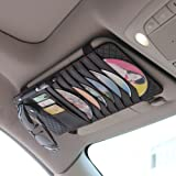 CD Sun Visor Organizer for Car Detachable