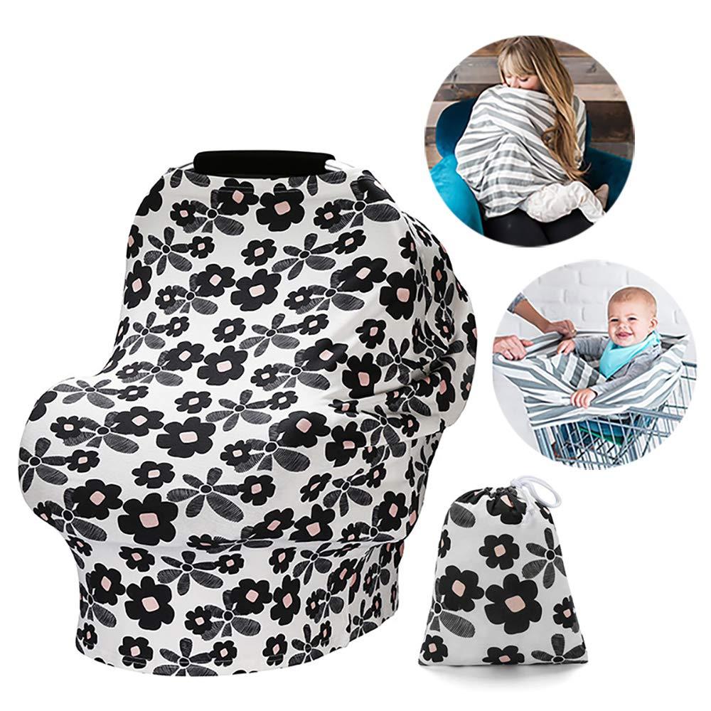 Cobertura de enfermer/ía para la lactancia materna Busy Mom Cubierta de cochecito infantil para beb/és y ni/ños