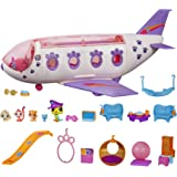 Littlest Pet Shop Pet Jet Playset Toy, Includes 4 Pets, Adult Assembly Required (No Tools Needed), Ages 4 and Up (Amazon…