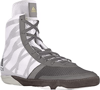Zapatilla de lucha Adidas Pretereo III, Multi (Grey Gold