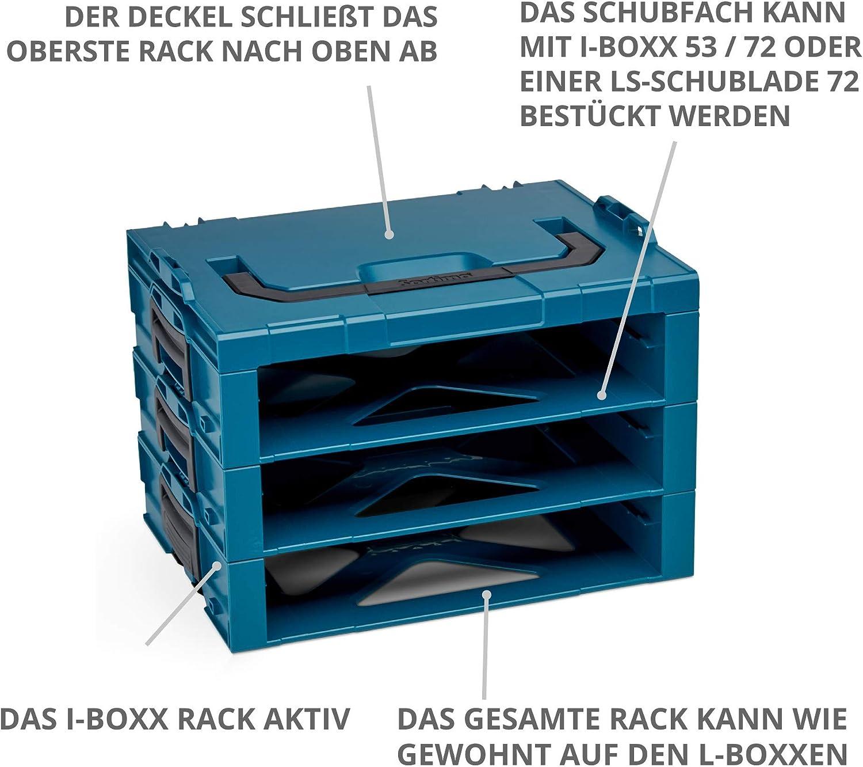 Caja de herramientas con compartimentos Sortimo i-Boxx 72 H3