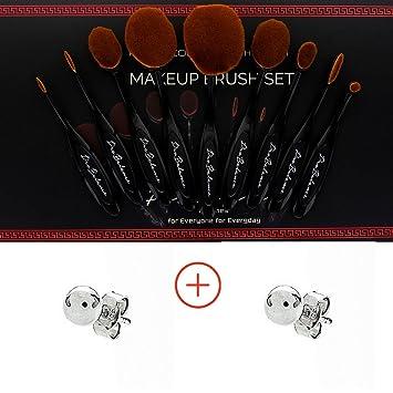 b2924e4be647 Amazon.com : Profesional Pro Balance Black Soft Hair Oval Makeup ...