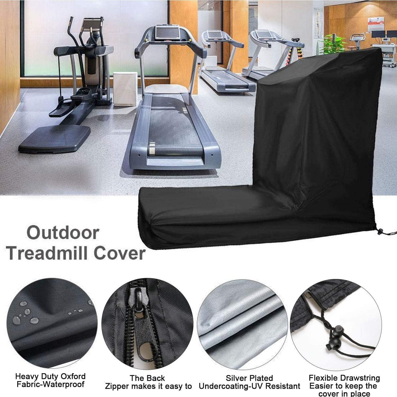 Aidetech Treadmill Cover Waterproof for Outdoor /& Indoor Running Equipment Machine
