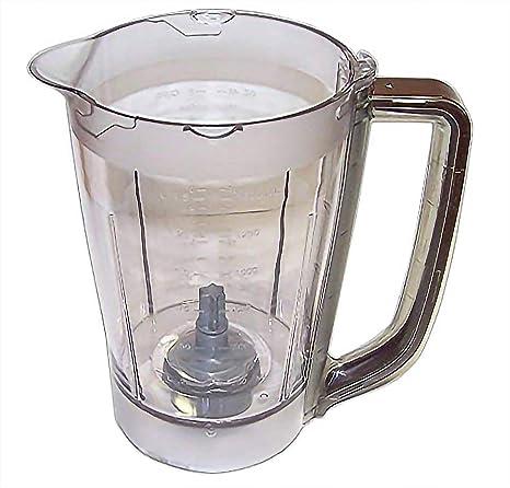 NEW Ninja Kitchen System Pulse 48 oz Pitcher Jar for BL250 BL206 BL207 Brown