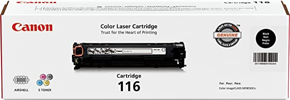 Magenta Yellow for the Canon Color imageCLASS MF8050Cn Original Canon 116 Black 8080Cw Sealed In Retail Packaging Cyan