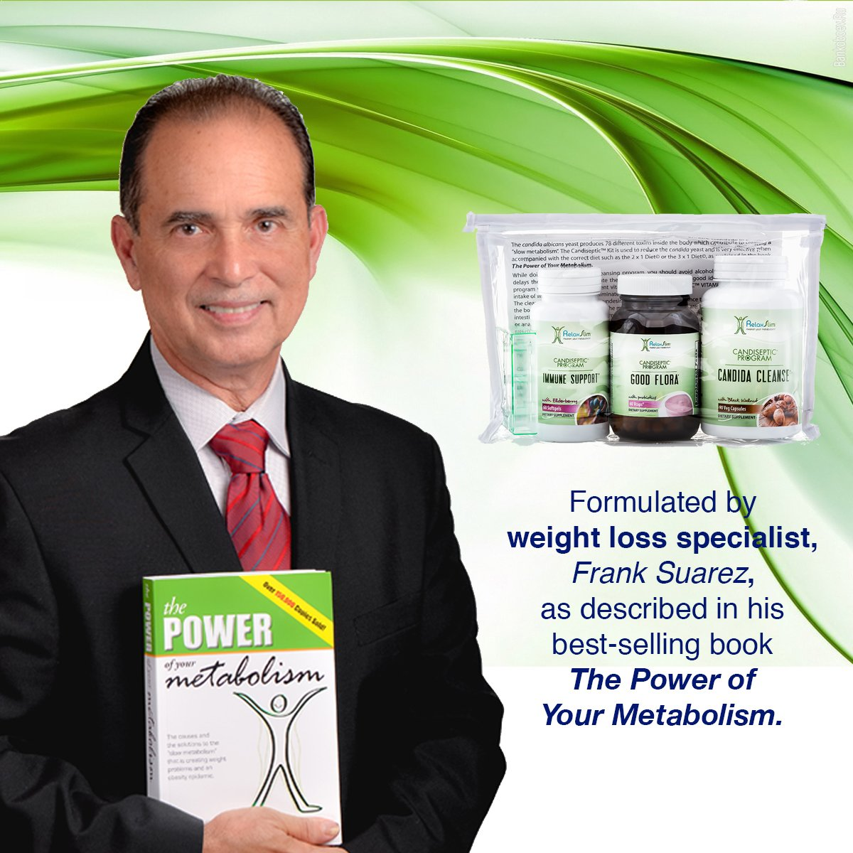 RelaxSlim Candida Albicans Treatment, Formulated by Award Winning Metabolism and Weight Loss Specialist- Full Detox and Cleanse of Fungus for Health and Weight Loss Aid by RelaxSlim  (Image #10)