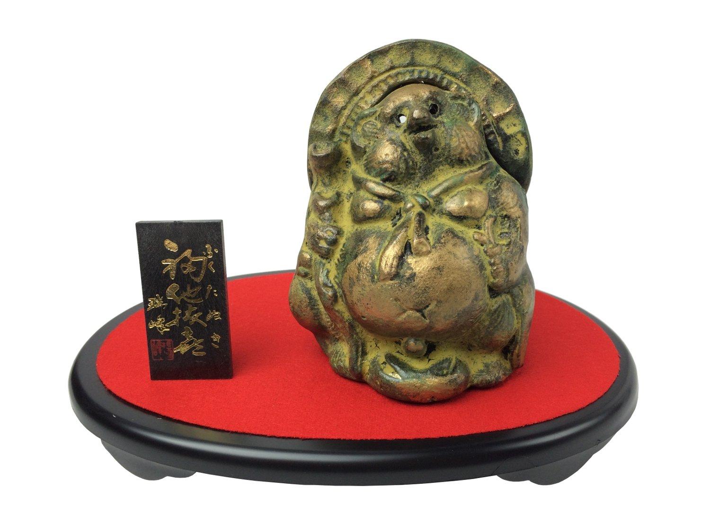 織田幸銅器 香炉 大和型 獅子蓋(大) B00NF6BYJM 高さ16.7×幅15.3cm|タイプ:大和型 獅子蓋(大) 高さ16.7×幅15.3cm