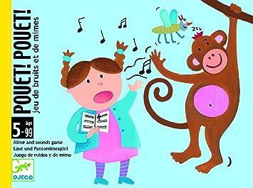 Djeco Pouet Juegos de Cartas, Multicolor (DJ05152): Amazon.es: Juguetes y juegos