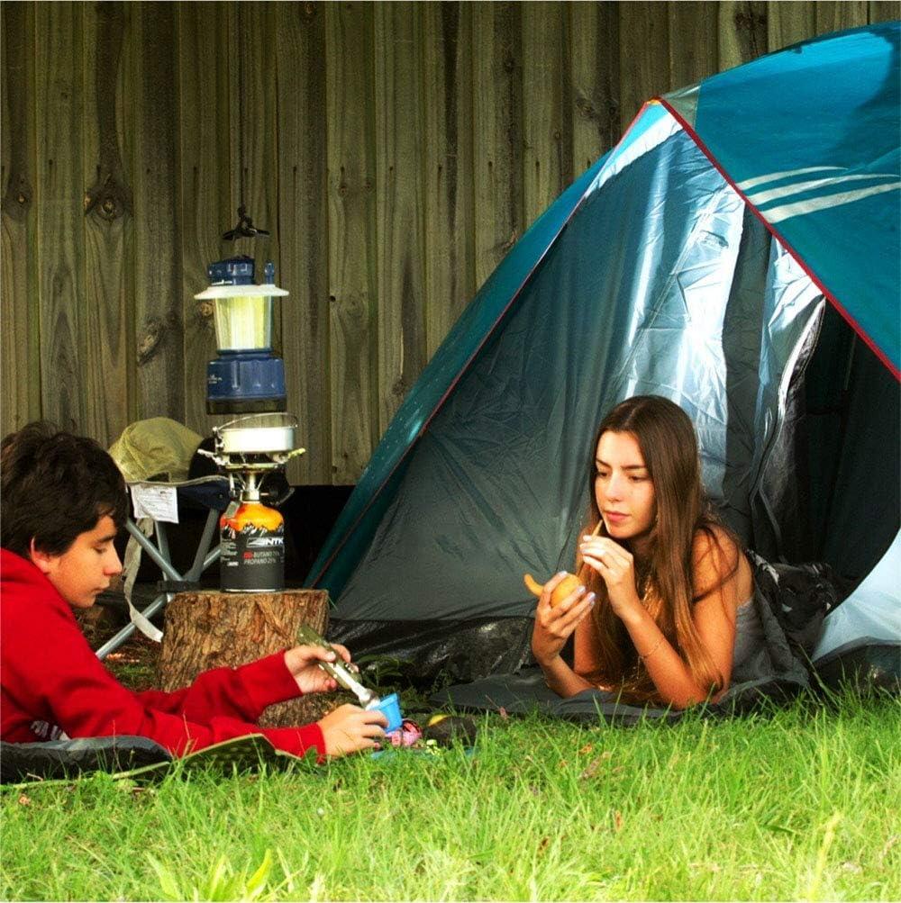 3-4 Personas Tienda de campaña Tiendas de campaña Mochilas Impermeables Cúpula a Prueba de Agua Pop-Up Tienda de Deportes al Aire Libre Camping Sun Shelters Green