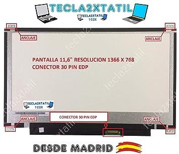 """Pantalla Compatible DE Y para PORTATIL 11,6"""" ASUS VIVOBOOK Flip TP201SA-DB01T"""