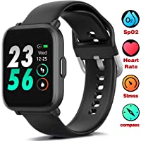 MorePro Smart Watch 18 Sport Modes Activity Tracker Heart Rate Fitness Watch Blood...