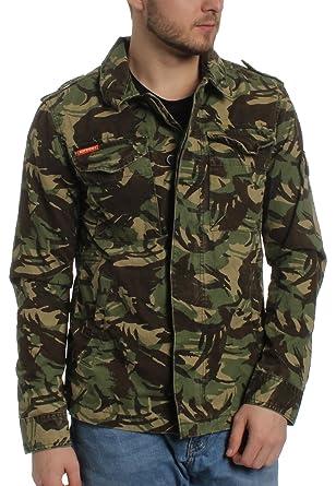 superdry herren jacke camouflage