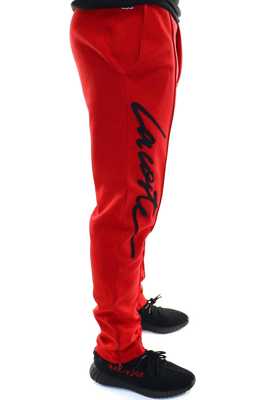 9bc02b681c Lacoste Unisex Live Embroidered Fleece Urban Jogging Pants