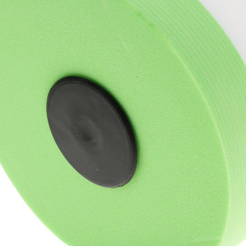 Pink//Green Green 145*270mm Water Aerobics Dumbbell EVA Foam Aquatic Barbell Fitness Aqua Pool Exercise D*H
