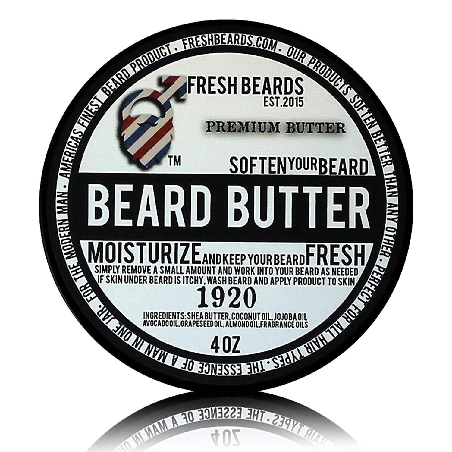 """1920"" Beard Butter ""1920"" Beard Butter Fresh Beards"