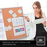 White Board and Cork Board Combination 48 x