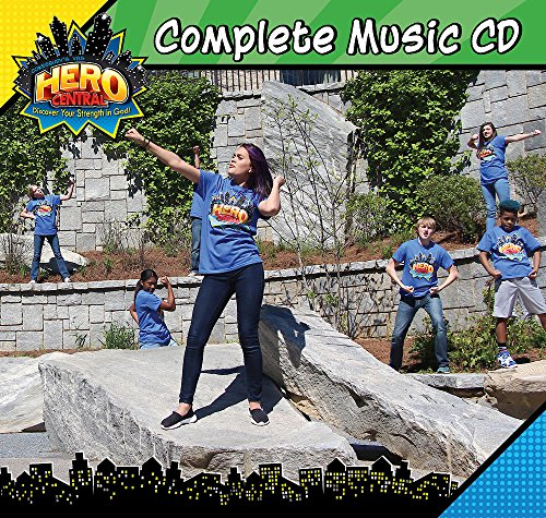 Vacation Bible School VBS Hero Central Complete Music CD: Discover Your Strength in - Discover Music