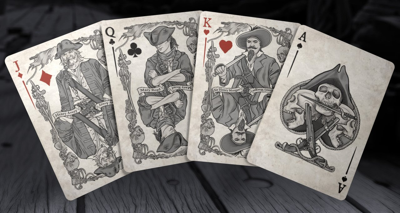 Brain Vessel Cargo Master Collection, Set of 4 Playing Card Decks by Brain Vessel Cargo (Image #4)