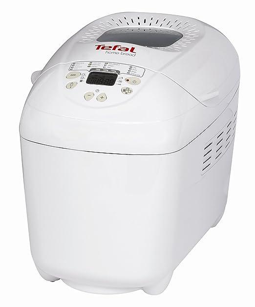 Tefal OW 5001 HOME BREAD XXL, Blanco, 800 W - Máquina de hacer pan