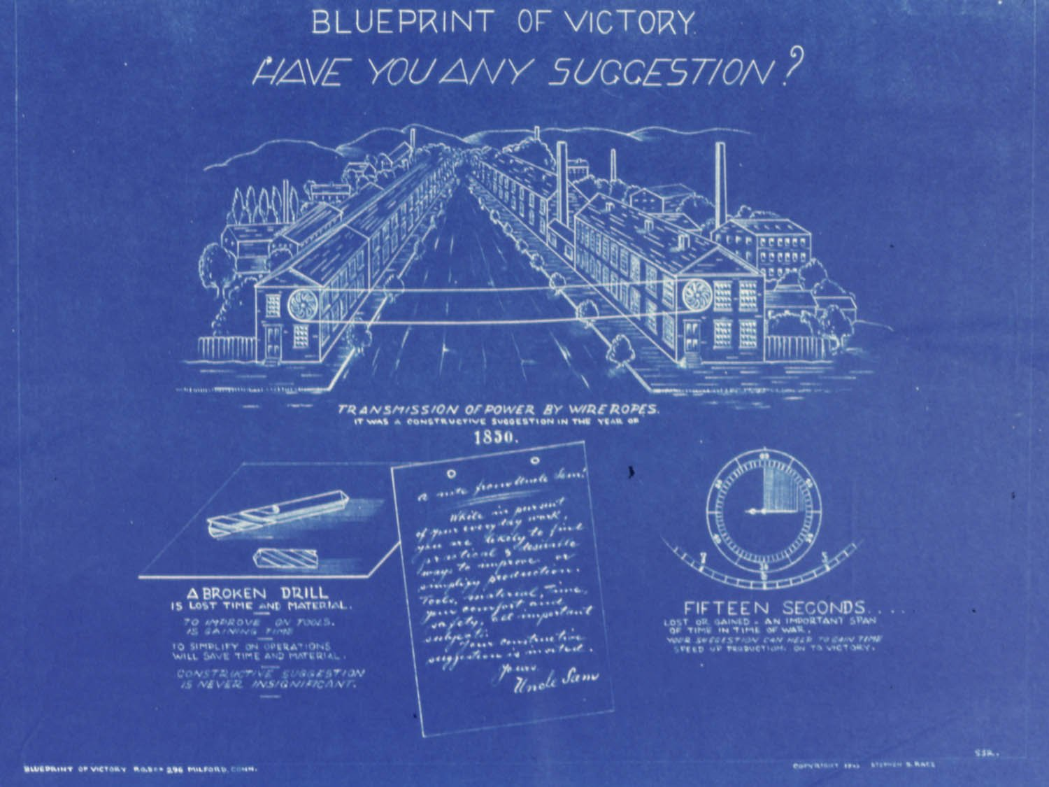 World War Ii Poster Blueprint Of Victory Have You Any Wiring Schematic Suggestions 534552 11 X 17 Posters Prints
