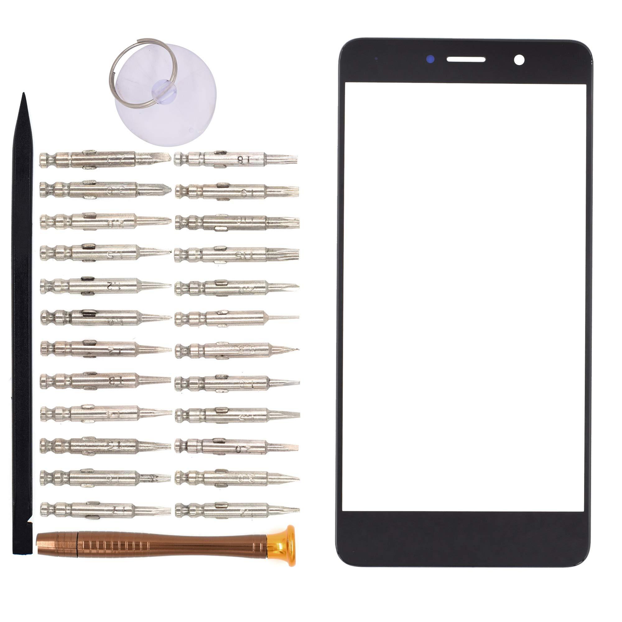 Vidrio Frente Para Huawei Y7 Prime Negro [goodyitou]
