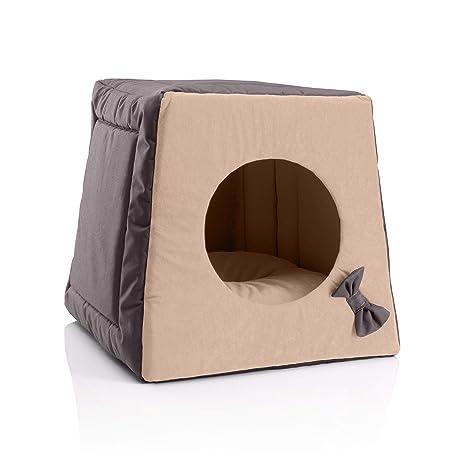 BedDog Cueva para Gatos 3-1 MIA, Alfombra colchon para Gatos ...