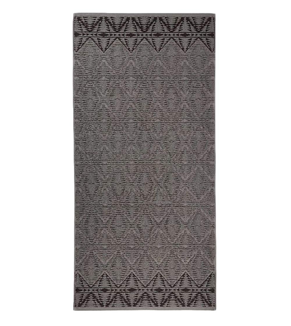 Pendleton Sculpted Wool Wash Cloth One Size 72377/_7602 1SZ Graphite for Bathroom /& Kitchen
