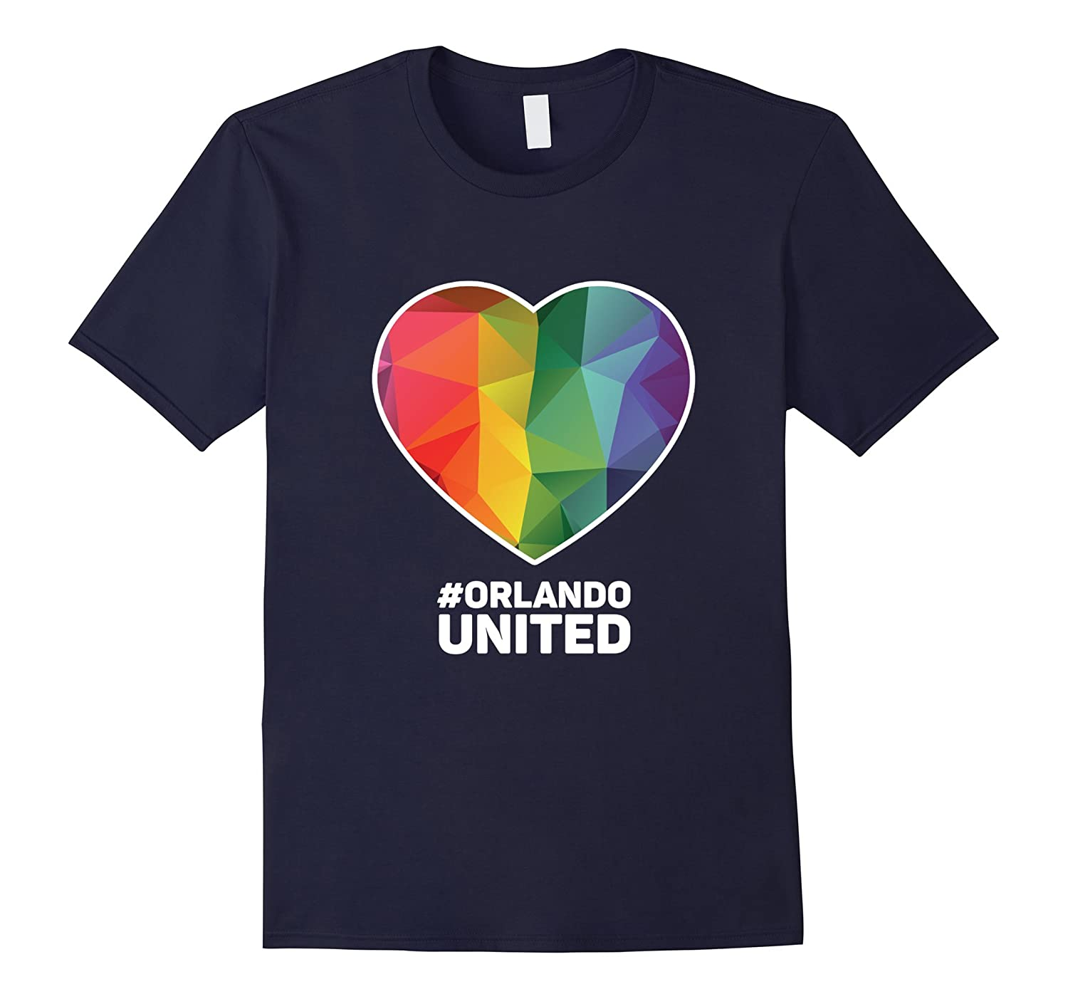#Orlando United T-Shirt For LGBT Gay Pride Month 2016-BN