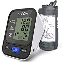 Blood Pressure Monitor Upper Arm, Automatic Digital BP Monitor& Pulse Rate Monitoring...
