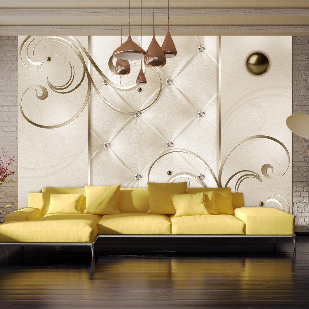 Murando - - - Fototapete 400x280 cm - Vlies Tapete - Moderne Wanddeko - Design Tapete - Wandtapete - Wand Dekoration - Leder weiß modern f-B-0039-a-a B00ZUAXL9C Wandtattoos & Wandbilder bd5488