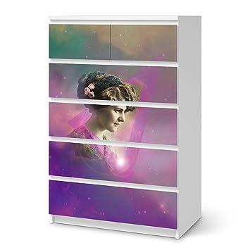 Creatisto Bedruckte Klebe Folie Für Ikea Malm 6 Schubladen (Hoch) | Möbel  Verschönern
