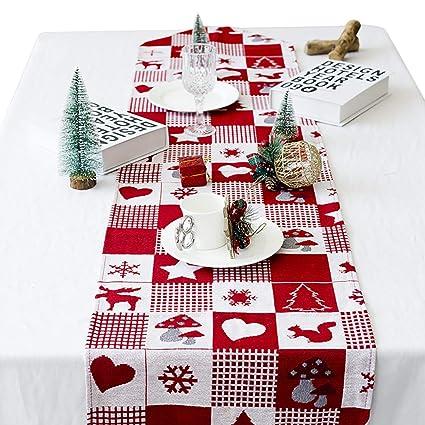 Amazon Com B Bangcool Christmas Table Runner Dining Table Runner