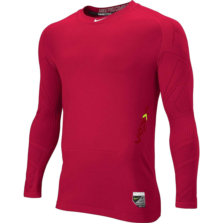 b738d6ea2cba Nike Pro Combat Hypercool Compression Seamless Long Sleeve T Shirt ...