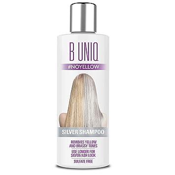 Amazon Com Purple Shampoo For Blonde Hair Blue Shampoo For Silver