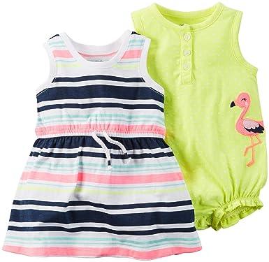 Carter\'s Babykleid + Spieler Sommer Mädchen 2 Stück Kleid girl dress ...