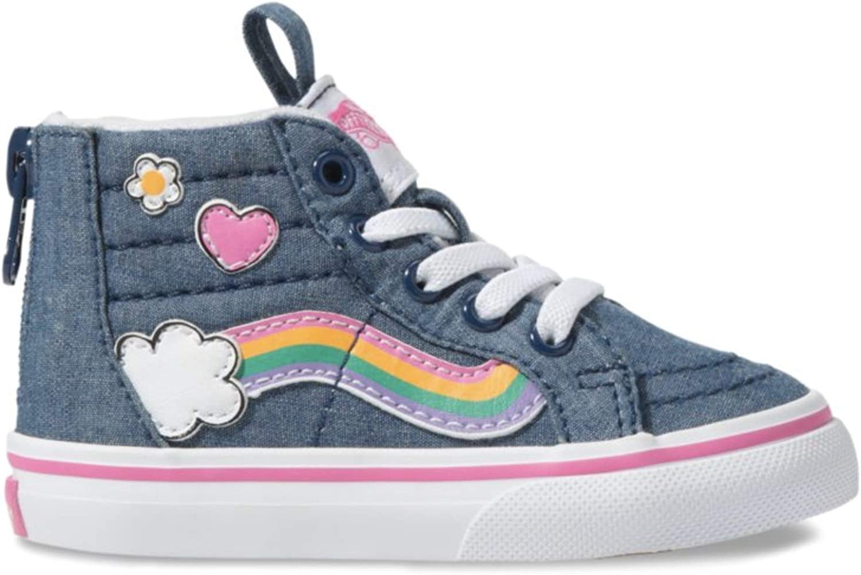 girls vans rainbow