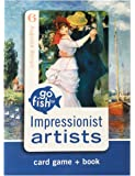 Impressionist Artists Go Fish for Art Cards & Book