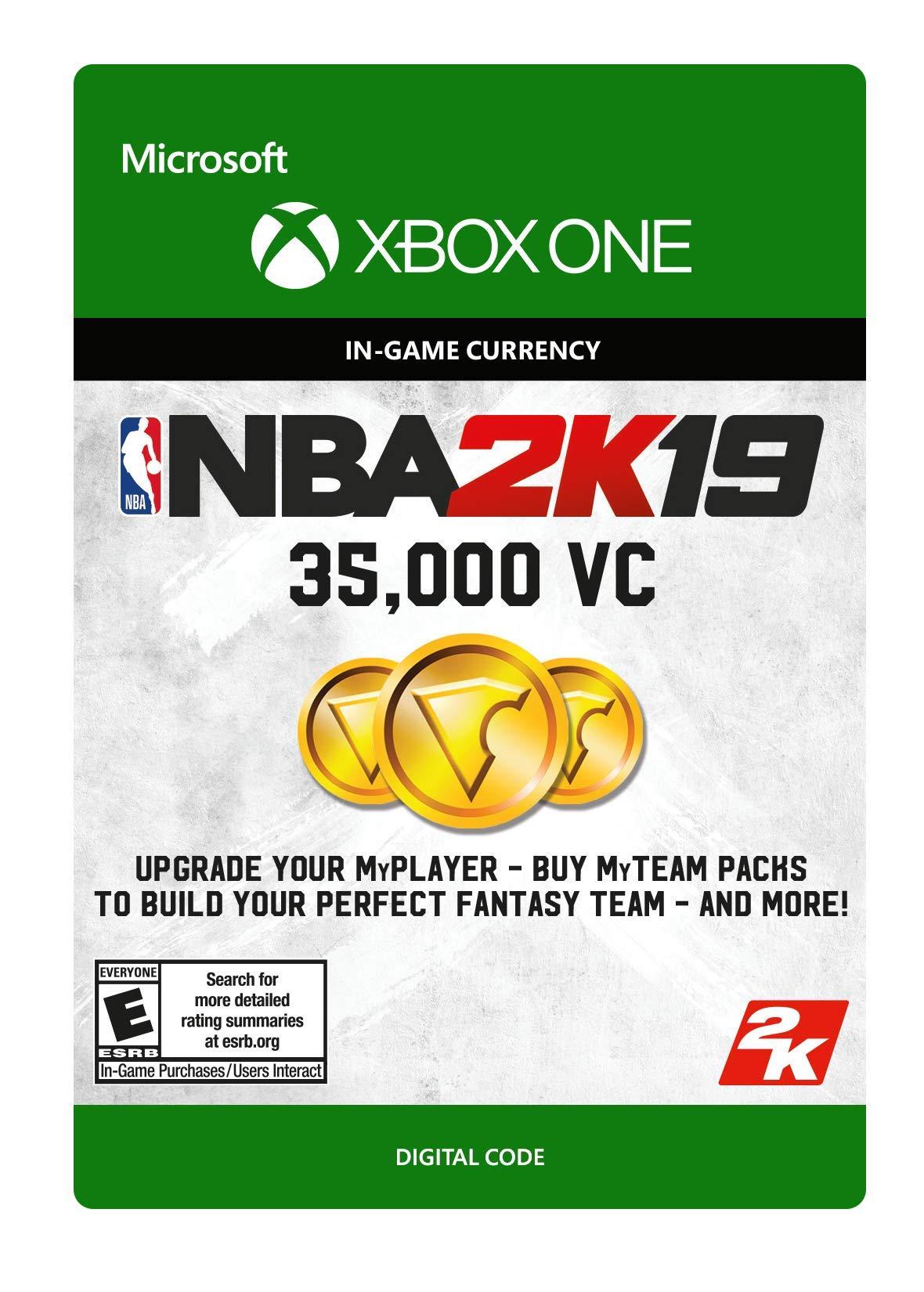 NBA 2K19: 35000 VC Pack - Xbox One [Digital Code]