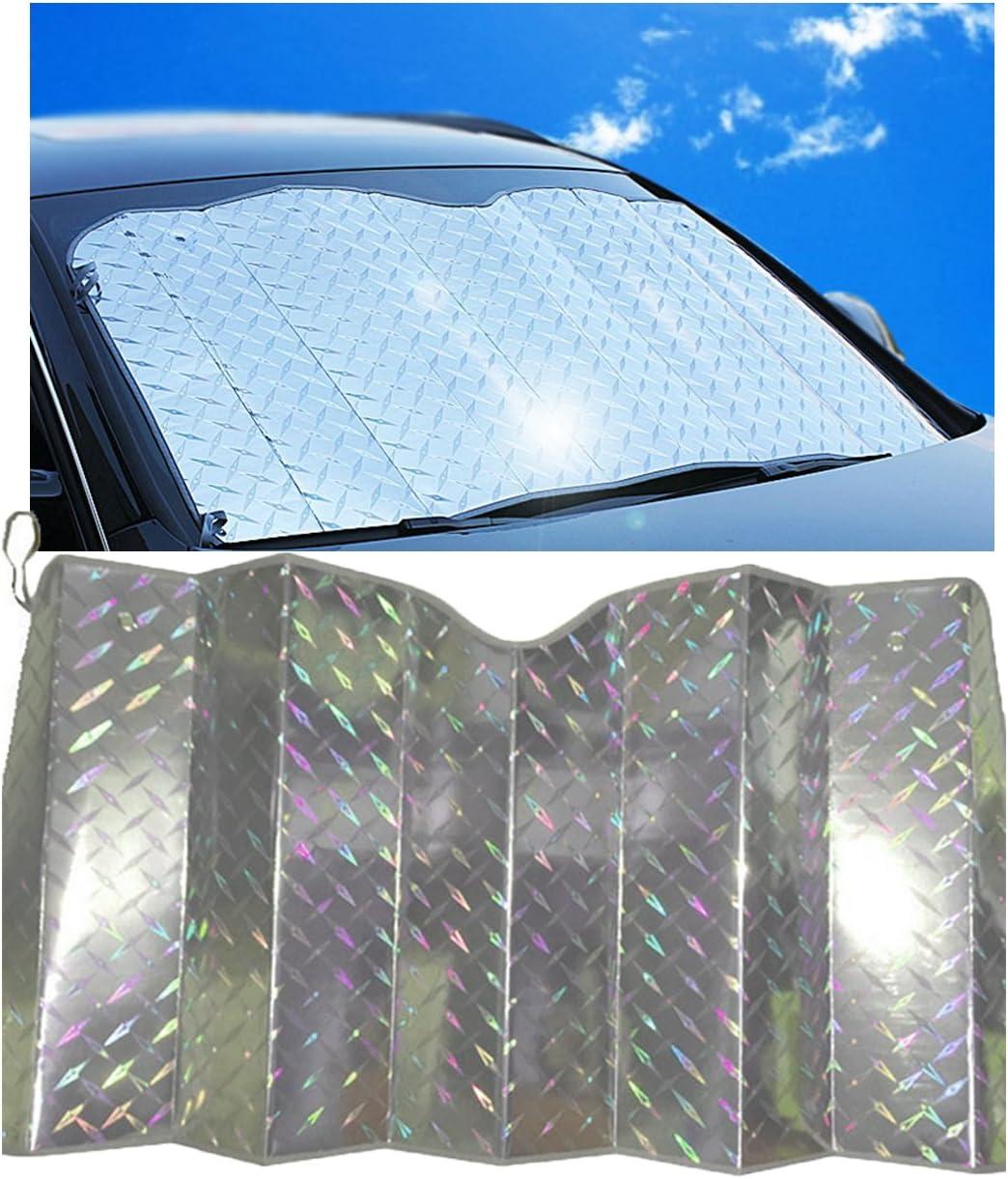 Chytaii Car Sun Shade Windscreen Sunshade Car front Windshield Sun Screen Shade UV Block Reflective Windshield